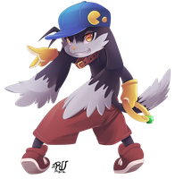 Klonoa (fan art5/10) by phation