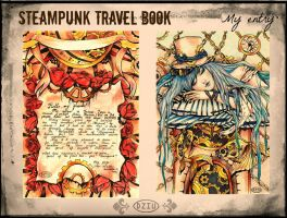 My entry to_Steampunk Travel Book Edition by DZIU09