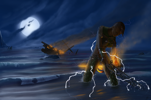 Sinking the Bone Ship - Guild Wars 2 Thief by kylemesa