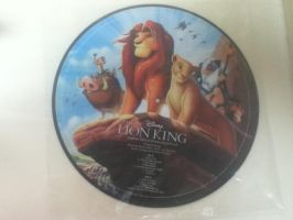 Lion King LP from Hot Topic by Nala1994