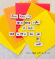 The Daily Magnet #125 by FridgePoetProject