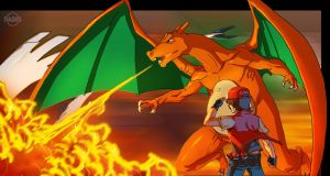 FaH- Red/Charizard by ParisAlleyne