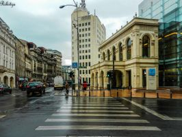 After rain in Bucharest by Rikitza