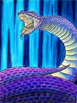 Rearing Snake by JessicaYean