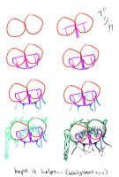how to draw: kissing by saroona97