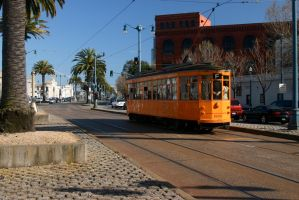 Trolly along the Embarcardeo by nwalter