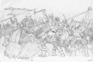 Knights against Chaos by TheHolyWenzel