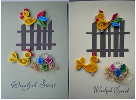 Quilling - card 57a-57b by Eti-chan