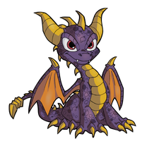 Skylander Spyro the dragon Vector by EfernoTheDragon