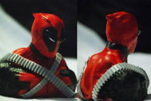 Deadpool Bust by FlipboyGeoX