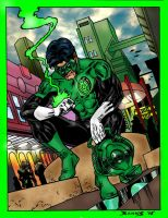 Kyle Rayner by Darryl Banks by hiasi