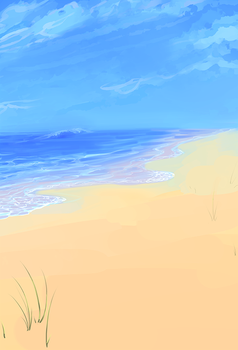 Beachbg by Pyxelle-art