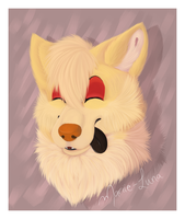 Gift: Daphy headshot by Mariie-Luna