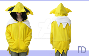 Jolteon Hoodie by NymphadoraDesigns