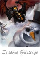 Deathwing Xmas by Churchofrobot