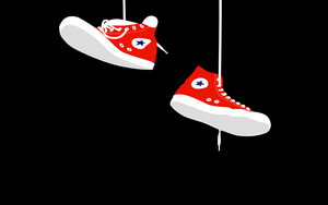 Converse Wallpaper by Amystikal