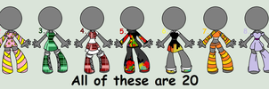 .:: Random Group Adopts::..::dClosed::. by abbyfirecat