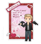 Supernatural Valentine # Balthazar by FallenRichardBrook
