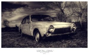 old man old car by MistyTableau