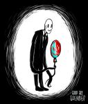 Baloon - Good guy Slenderman by lIfExPeRiMeNTs
