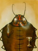 Dung Beetle by ejohnr