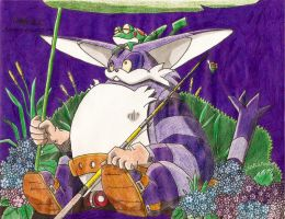Big the Cat by Aizenfree