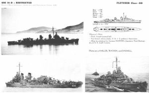 Technical Drawings: USS Fletcher by bwan69
