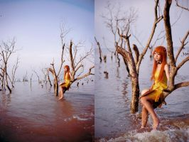 asuka :lost in the water city by angie0-0