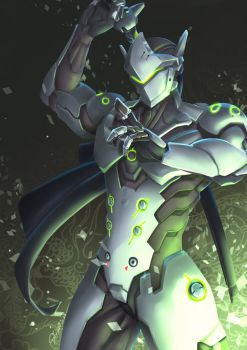 [overwatch] Genji by Mr-SO
