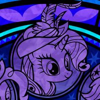 Coronation Stained Glass -preview- by Akili-Amethyst