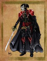 Vampire Swordsman by thedarkestseason
