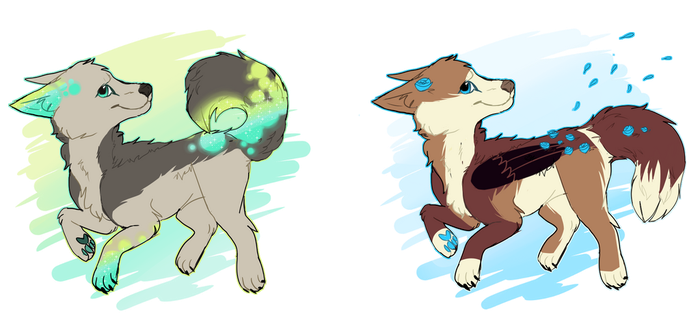 Auction adoptables 6 CLOSED by Pumpkin-adopts