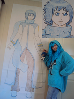 Life-size Kaito by CupNoodlesFreak