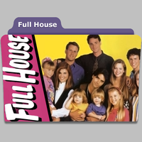 Full House tv folder icon by speakingsoul