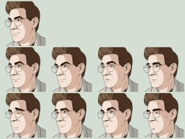 Egon Expressions by NessaSan