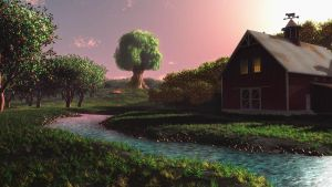 Orchard Valley, Concept Art 2010 by Maiamimo