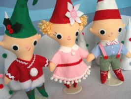 Christmas Elves by FantasticToys