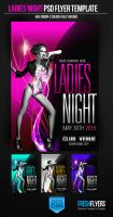 Ladies Night PSD Flyer Template by ImperialFlyers