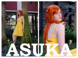 I Wanna Be Asuka by ledibug
