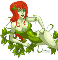 Poison Ivy by EvilCreampuff