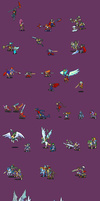FE style sprites dump by Atey
