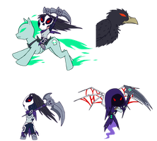 Chibi Darksiders II by VibrantEchoes