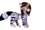 the ocelot canine ^^ by wolfwrathgirl