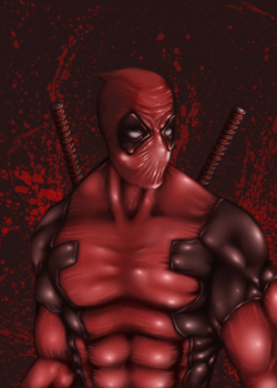Deadpool Attempt by Imag-Inator