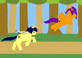 Game of tag by kittypetro