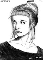 Hayley Williams Drawing by neonkiler99