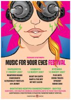 Poster_Music 4yr eyes_festival by t-drom