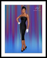 Diahann Carroll by sanchezdesigns