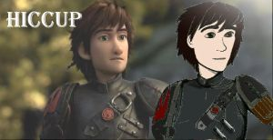 Hiccup from How to Train Your Dragon 2 by Firewhisky-Black