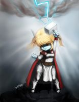 LOL - poppy , thor ver. by chrier